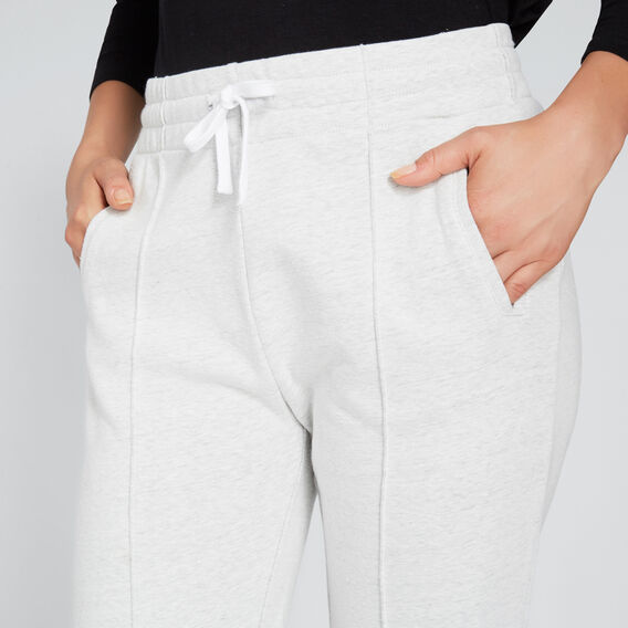 Front Seam Trackie  LIGHT GREY MARLE  hi-res