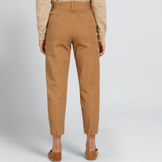 Paperbag Slim Pant  GINGERBREAD  hi-res