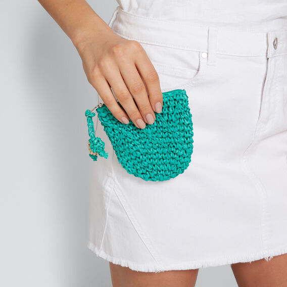 Demi Coin Purse  PEACOCK GREEN  hi-res