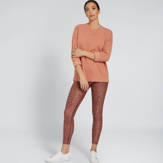 Crop Legging  TERRACOTTA ANIMAL  hi-res