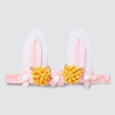 Felt Flower Bunny Elastic  MULTI  hi-res