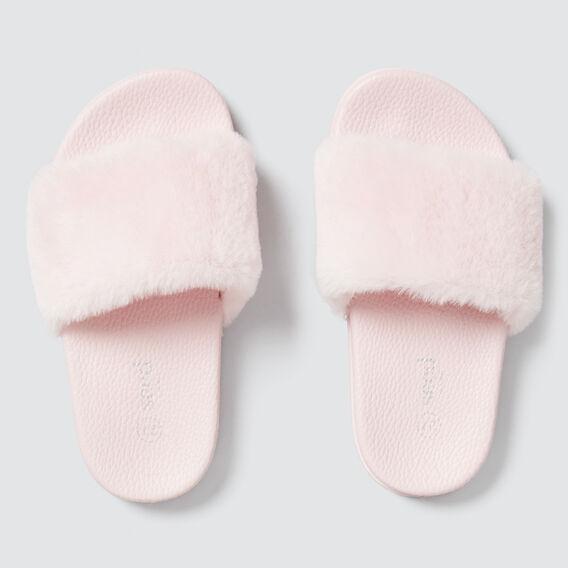 Fluffy Slide  ICE PINK  hi-res