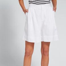Wide Leg Short  WHISPER WHITE  hi-res