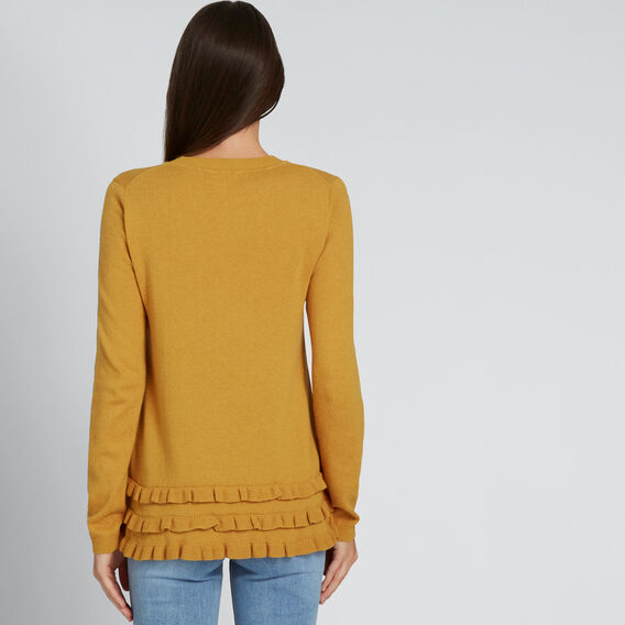 Frilly Sweater  GOLDEN MUSTARD  hi-res