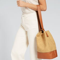 Convertible Tote  CAMEL/TAN  hi-res