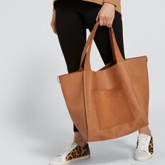 Blake Relaxed Tote  TAN  hi-res
