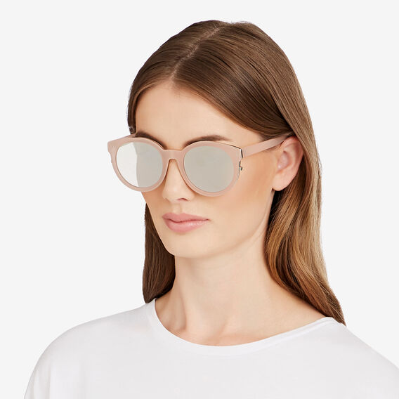 Addison Round Sunglasses  NUDE  hi-res