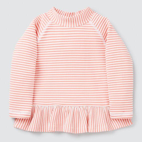 Stripe Frill Rashie  MELON  hi-res