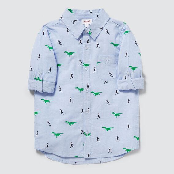 Dino Shirt  BLUE OXFORD  hi-res