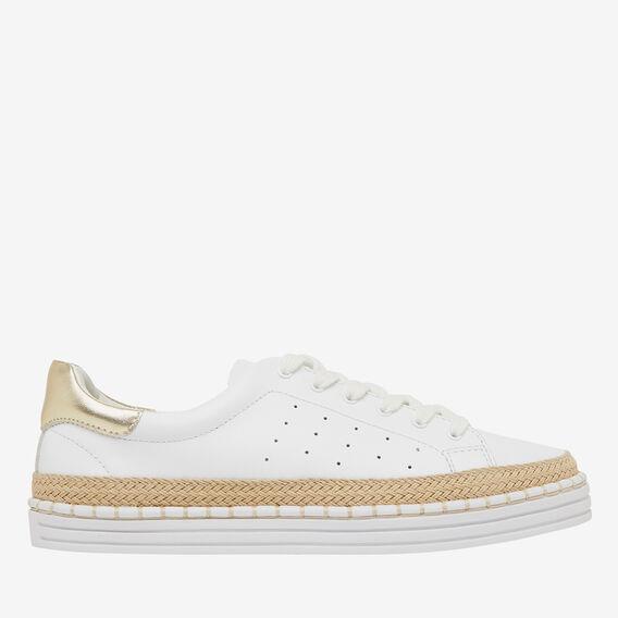 Bailey Sneaker  WHITE  hi-res