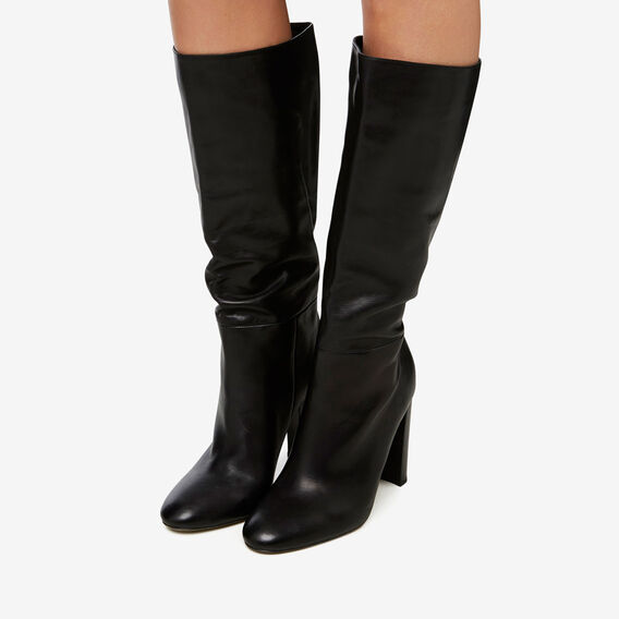 Ivy Heel Boot  BLACK  hi-res