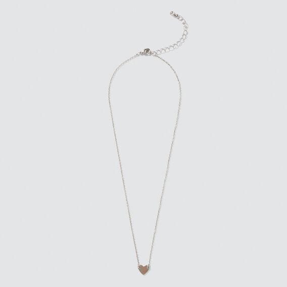 Heart Necklace  SILVER  hi-res