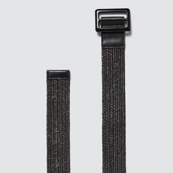 Woven Belt  BLACK  hi-res