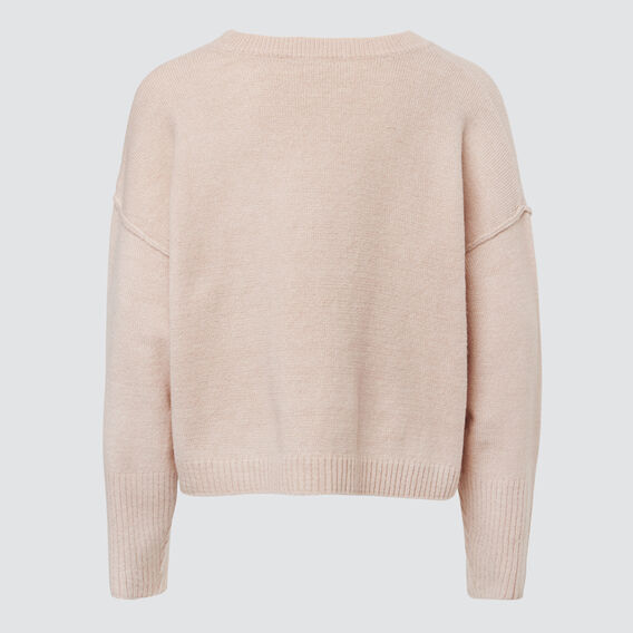 Crop Knit  DUSK ROSE MARLE  hi-res