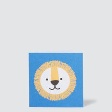 Small Lion Card  MULTI  hi-res