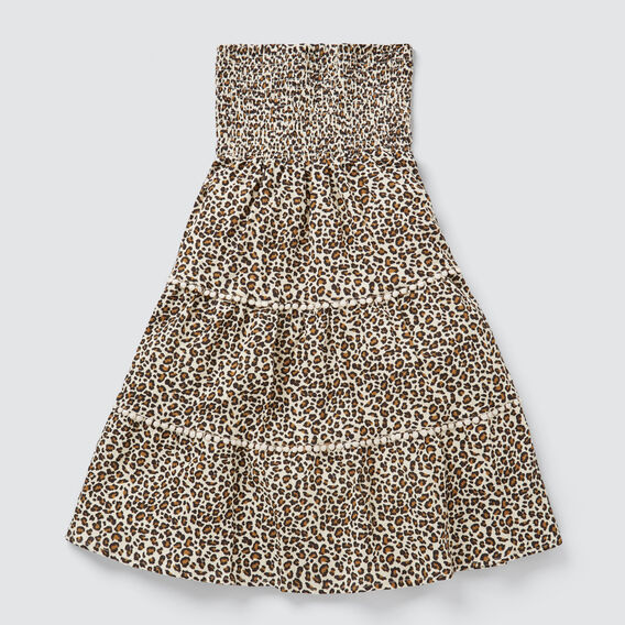 Ocelot Tiered Skirt  SAFARI  hi-res