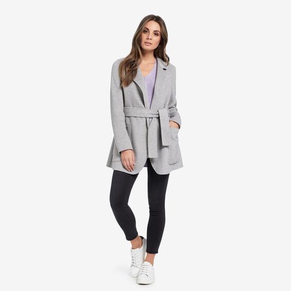 V-Neck Rib Sweater  WISTERIA MARLE  hi-res