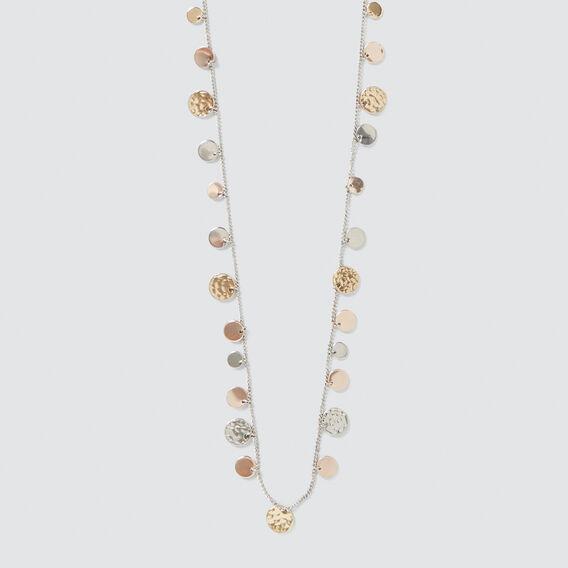 Coin Disc Necklace  MULTI  hi-res