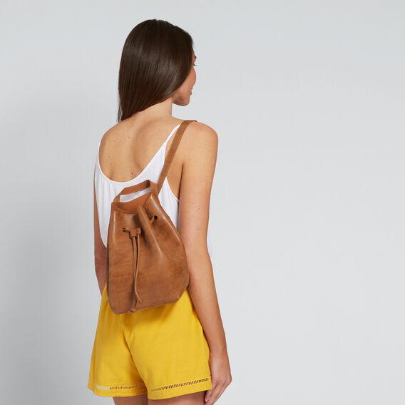 Tori Mini Backpack  TAN  hi-res