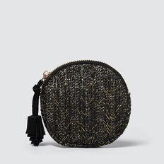 Circle Coin Purse  BLACK  hi-res