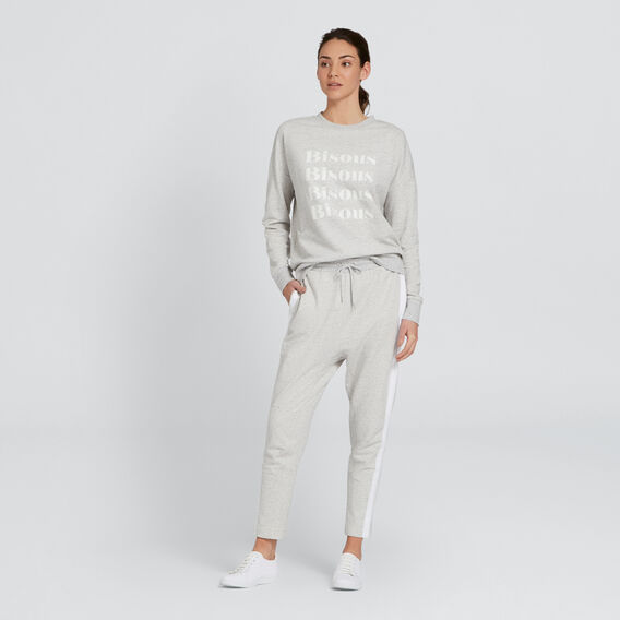 Bisous Windcheater  SMOKEY GREY  hi-res