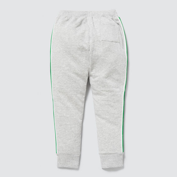 Side Stripe Trackie  PEBBLE MARLE  hi-res