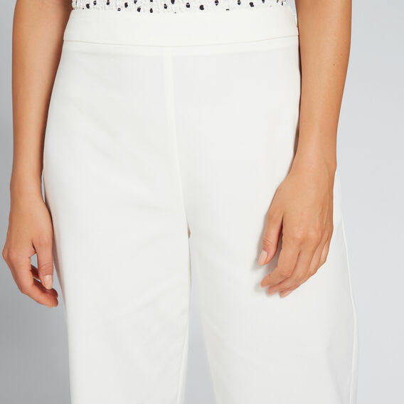 Cropped Pant  CLOUD CREAM  hi-res