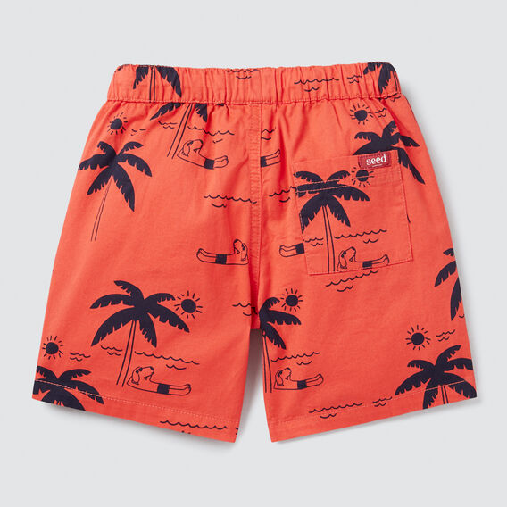 Palm Yardage Short  TANGO RED  hi-res