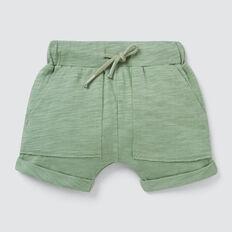 Slub Jersey Pocket Short  OLIVE  hi-res