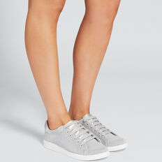 Sarah Knit Sneaker  SILVER  hi-res