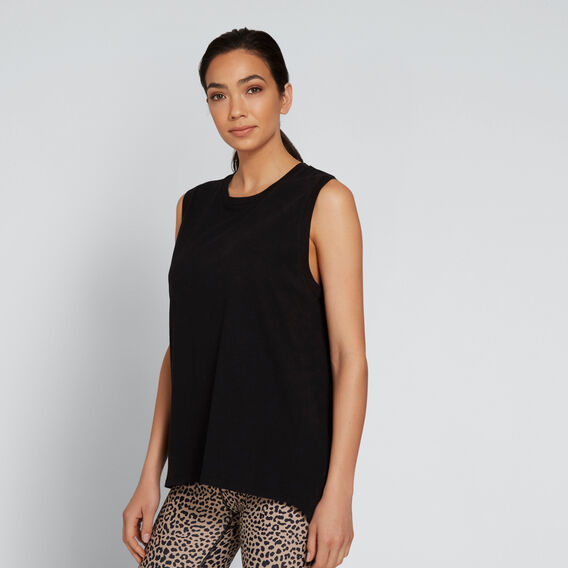 Asymmetric Tank  BLACK  hi-res