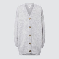 Longline Cardigan  CLOUD  hi-res