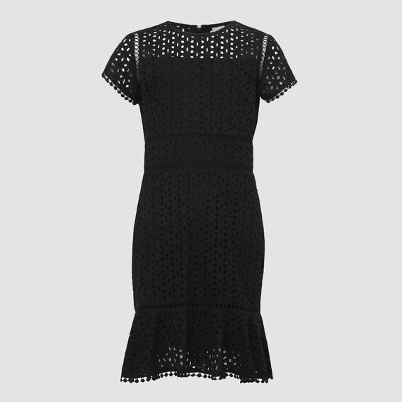 Lace Dress  BLACK  hi-res