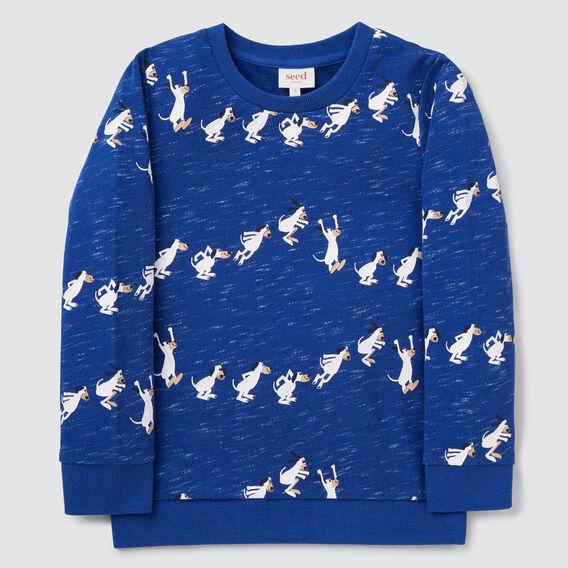Jumping Yardgae Sweater  DEEP COBALT  hi-res