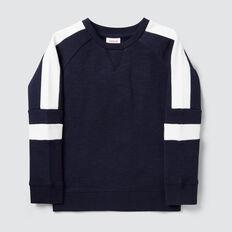Spliced Sweater  MIDNIGHT BLUE  hi-res