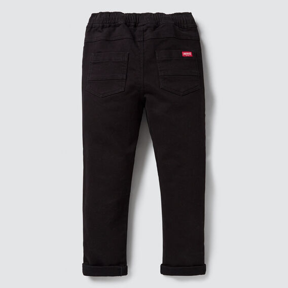 Denim Chino  BLACK  hi-res