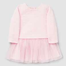 Quilted Tutu Dress  ICE PINK  hi-res