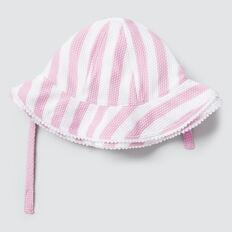 Stripe Swim Hat  FAIRY FLOSS  hi-res