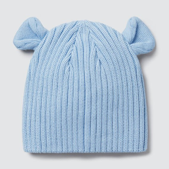 Novelty Rib Beanie  DUSK BLUE  hi-res