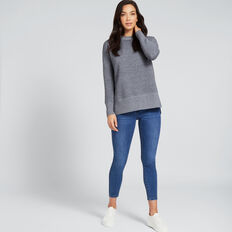 Textured Sweater  NAUTICAL BLUE  hi-res