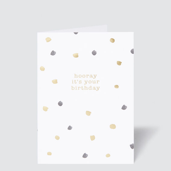 Greeting Card  HOORAY  hi-res