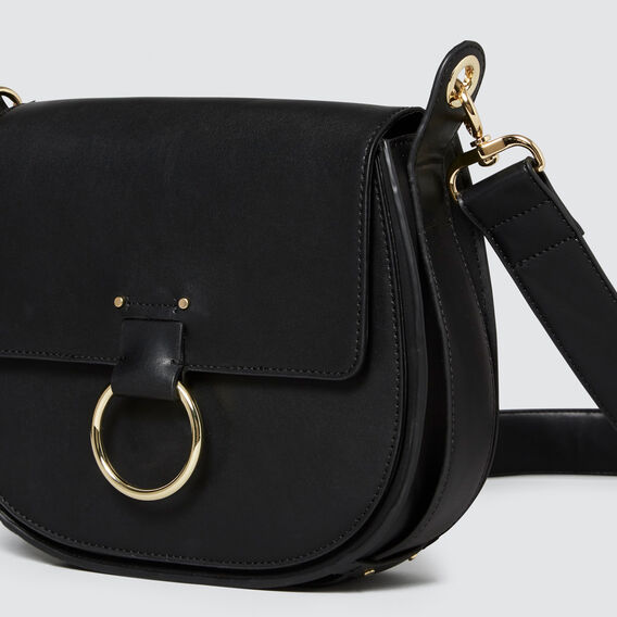 Dylan Saddle Bag  BLACK  hi-res