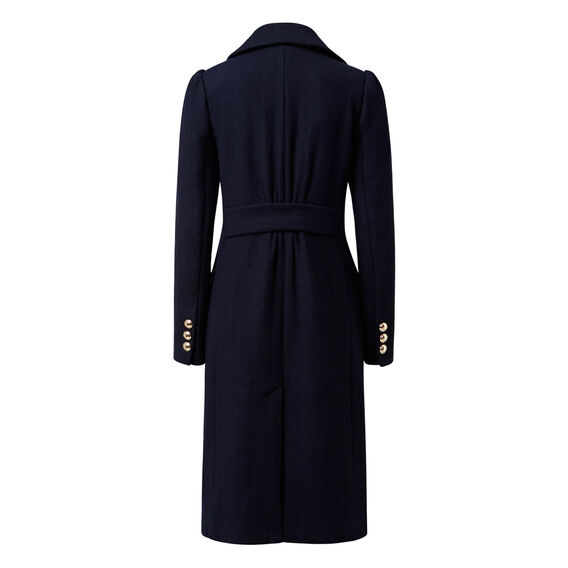 Longline Coat  INK BLUE  hi-res