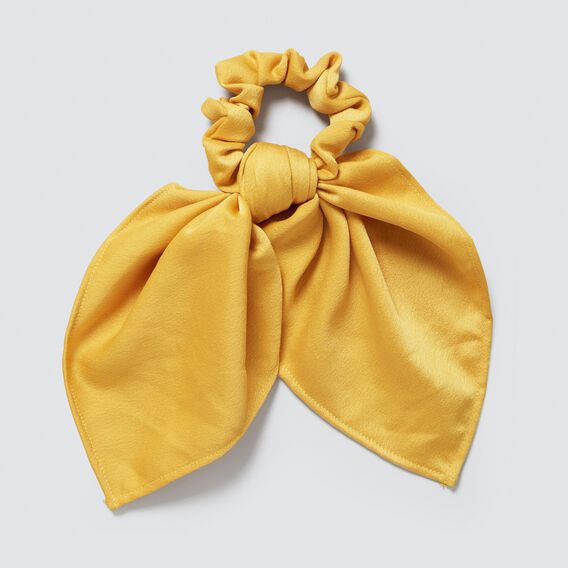 Pony Scarf  AMBER YELLOW  hi-res
