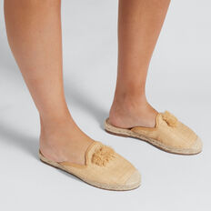 Malow Pom Pom Espadrille  NATURAL  hi-res