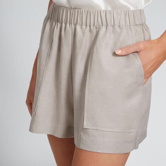 Stitch Pocket Short  GREY TAUPE  hi-res