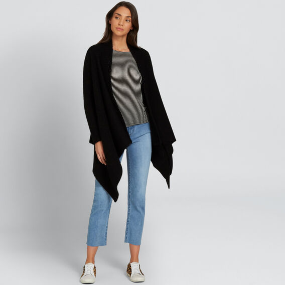 Luxe Mohair Cardigan  BLACK  hi-res