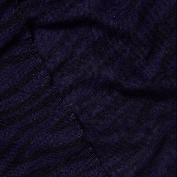 Tiger Print Scarf  NAUTICAL BLUE  hi-res