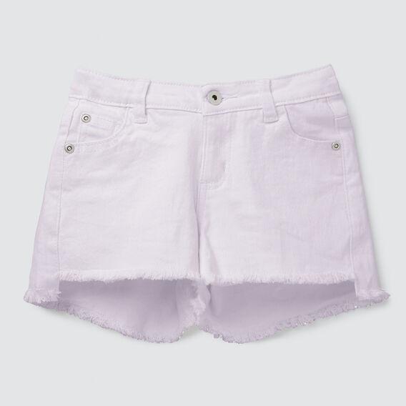 Denim Shorts  LILAC  hi-res