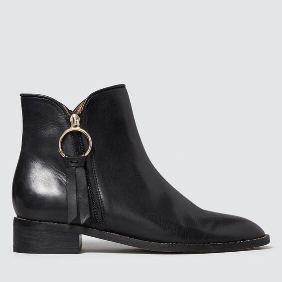 Tilly Flat Boot  BLACK  hi-res